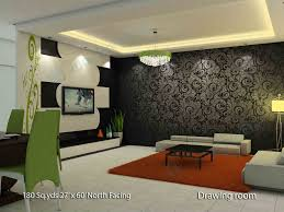 Hall Interior Design Images Waynirman Sq Yds X Ft North Face House