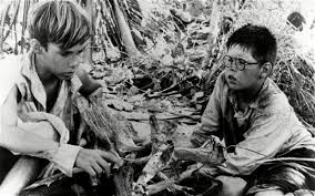 why lord of the flies speaks volumes about boys telegraph a scene from the 1963 film version of william golding s lord of the flies which