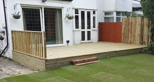 Small Picture Smart Gardens Leeds Decking Company Fencing Garden Decking Leeds