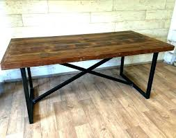majestic looking rustic industrial dining table etsy solid antique kitchen farmhouse vine reclaimed handmade in britain uk a frame