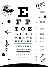 Eye Exam Snellen Chart Eyes Vision Eye Vision Chart Pdf