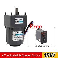 <b>4M25GN</b>-<b>C</b> 25W AC220V 10-500RPM Single Phase <b>Gear Motor</b> CW ...