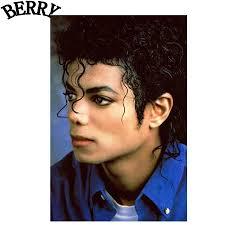 Michael Jackson diy 5D Pittura Croce di Diamanti Stitch Pieno ...