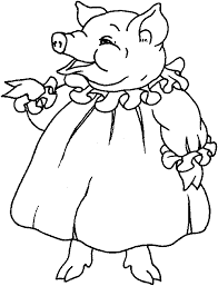Small Picture Pig mummy pig dress coloring pages