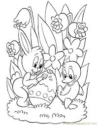 Small Picture Excellent Idea Printable Coloring Pages For Easter Easter Coloring