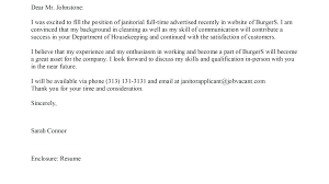 Janitorial Cover Letter New Custodian Cover Letter Custodian Cover Letter Fancy Sample