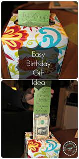 cool boy birthday presents diy money gift idea gift ideas for men or boys teenage birthday