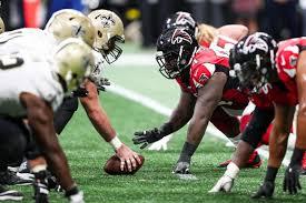 Atlanta Falcons Vs New Orleans Saints Mercedes Benz Stadium