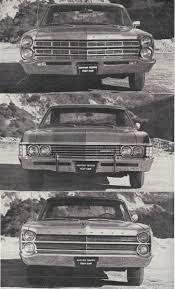 Vintage Comparison Test: 1967 Chevrolet Impala SS, Ford Galaxie ...