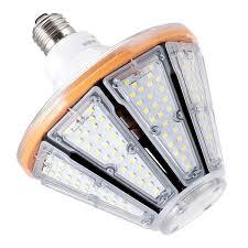 How To Change A Parking Lot Light Bulb Kawell 60w Led Corn Light Bulb E26 Base 8400lm 5000k Cool