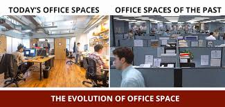 office space photos. evolution of office space photos