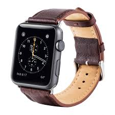 for apple watch series 3 strap ibazal apple watch band 42mm leather band genuine soft microfiber lining for 42mm apple watch series 3 series 2 series
