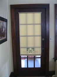 window covering ideas for glass front