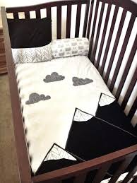 black and white boys bedding mountain blanket woodland baby crib quilt by fun offshoot from woodland black and white boys bedding