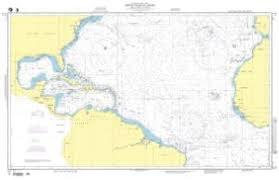 Nautical Charts Central America Nautical Charts Online Nga Nautical Chart 12 North