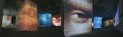 Image result for van gogh expo lumiere