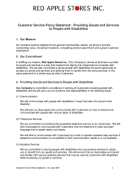 Free 21 Customer Service Policy Examples In Pdf Google