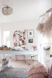 vintage shabby chic inspired office. Rachel Ashwell Shabby Chic Couture Vintage Inspired Office