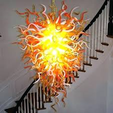 hand blown glass flowers hand blown glass elegant dining room guide extraordinary the anemone hand