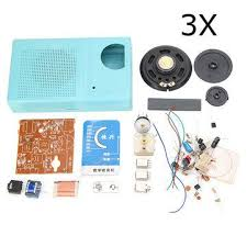 <b>3Pcs</b> AM Radio <b>DIY Electronic</b> Kit Learning Suite <b>DIY Electronic</b> Kits ...
