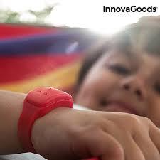 červený Repelentní Náramek Proti Komárům S Vůní Citronely Innovagoods Bonami