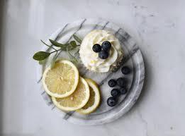 Jennifer Anne: Lemon Blueberry Cupcakes With Lemon Cream Cheese Frosting
