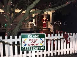 Celebration Of Light 2018 Winner Ocracoke Island Lights Up For Holiday Decorating Contest