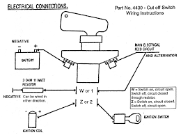 wiring diagram for boat kill switch the wiring diagram can i use a 4 pole kill switch out killing my alternator wiring diagram