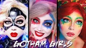 gotham s makeup pilation harley quinn poison ivy catwoman