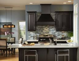 Kitchen Paint Colors Dark Brown Cabinets Popular Newest Color Ideas