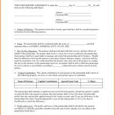 Business Partnership Agreement Template Free Download Save ...