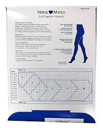 Nurse Mates Hosiery Size Chart Womens Nurse Mates Support Socks White D