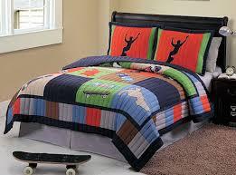 skateboard bedding quilt set