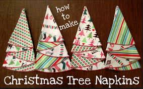Christmas Tree Napkin Pattern