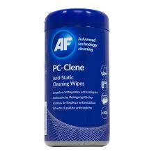 the office centre. AF PC-Clene Anti-Static Cleaning Wipes Tub (Pack Of 100) PCC100 The Office Centre C