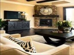 ... Home Accecories:Low Wide Fireplace With Tv Mounted Above Moodbord  Pinterest Intended For Houzz Media ...