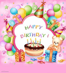 Birthday On Day Card Birthday Greetings Card Design Kids 16