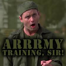 bill murray army training by topher147