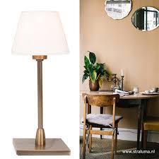 Strak Klassieke Tafellamp Nachtkastje Straluma