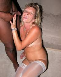 Interracial cum slut wife