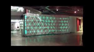 feature wall lighting. Paul H. Cocker Gallery Feature Wall Lighting Display @ Ryerson Architecture Building - YouTube