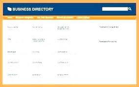Microsoft Office Address Book Template Free Business Directory Template Free Templates Rectory Excel