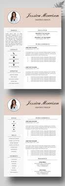 Resume Template Modern Professional Resume Template CV Template For MS Word Resume Modern 16