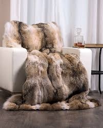 coyote rug real fur rugs for at fur source coyote rug