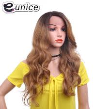 Eunice Synthetic ลกไมดานหนาดานหนาวกผมผมยาววกผม 26 นว Body Wave ทรงผมวกผมลกไม Bady ผมผหญงสดำ Usa