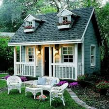 Mini Backyard Wooden Houses