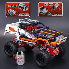 Lepin 20014 9398 Technic 4x4 Crawler Building Blocks With Electric