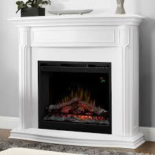 dimplex gwendolyn 48 inch electric fireplace inner glow logs white dfp26l 1480w gas log guys