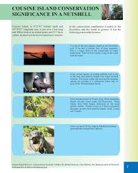 cousine island conservation