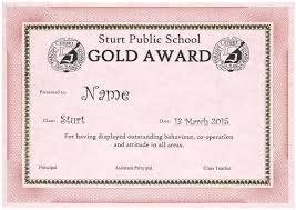 Student Welfare Sturt Public School